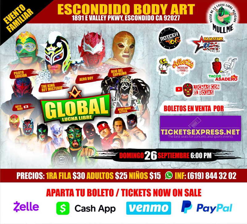 Tickets Express | Global Lucha Libre