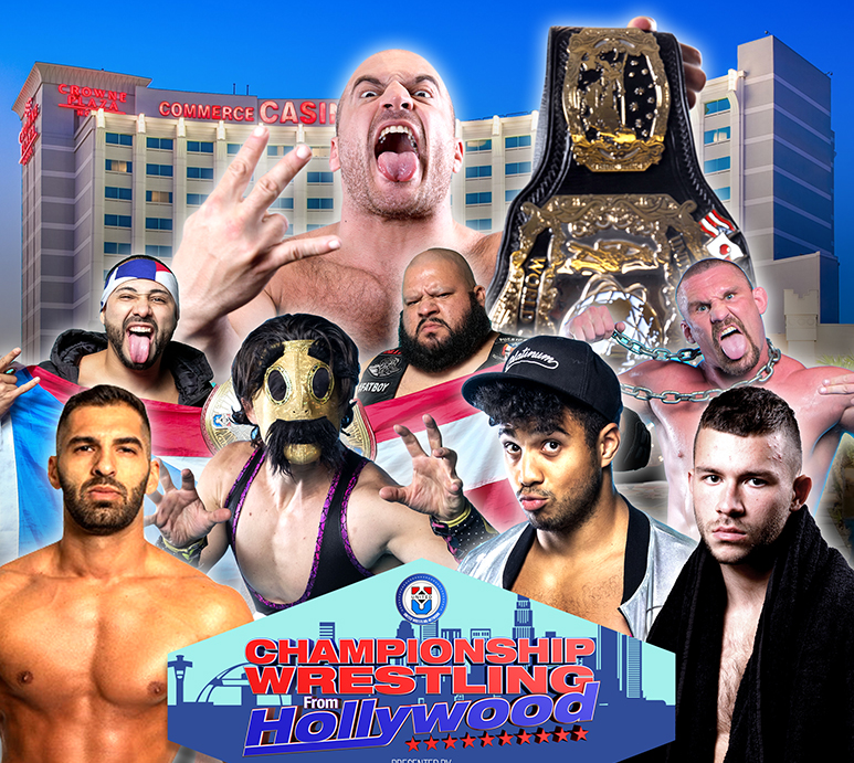 Tickets Express   Championship Wrestling from Hollywood