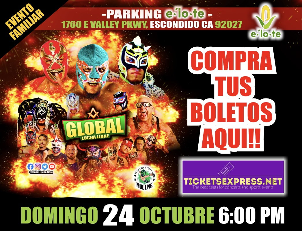 Tickets Express   Global Lucha Libre